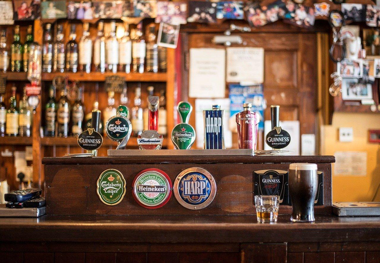 bar, local, ireland